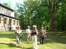 I Międzynarodowe Sympozjum Form Przestrzennych w Wiklinie Rudnik nad Sanem Maj 2009  Chwila relaksu...